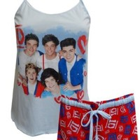 1D One Direction Band Members Shortie Pajamas for women