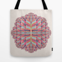 pinkwave (Extended) Tote Bag by Obvious Warrior