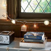 Bird & Cage String Lights