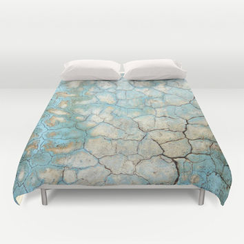 Corroded Beauty Duvet Cover by RichCaspian | Society6