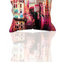 Coussin design Big Apple 24 Pop