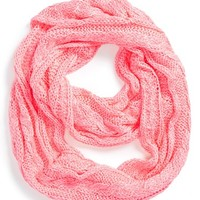 Girl's Tucker + Tate Neon Cable Knit Scarf
