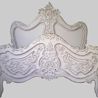 Jimmie Martin Ltd -WHITE BAROQUE  BED