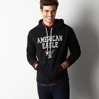 AEO SIGNATURE COLORBLOCK HOODED POP OVER