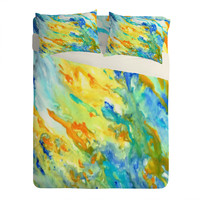 Rosie Brown Sunset Inspired Sheet Set Lightweight