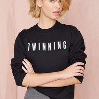 Nasty Gal x Private Party Twinning Sweatshirt
