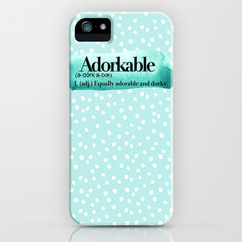 Adorkable iPhone & iPod Case by Sara Eshak