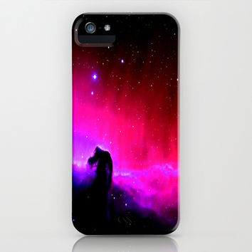 Horsehead Nebula Hot Pinks & Black iPhone & iPod Case by 2sweet4words Designs | Society6