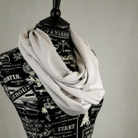 Jersey Infinity Scarf Stark Grey Game of Thrones Gray