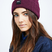 BDG Ribbed Beanie in Fig - Urban Outfitters