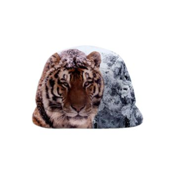 Siberian Tiger Baseball Hat created by ErikaKaisersot | Print All Over Me