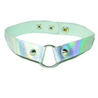SPACE JAM HOLOGRAPHIC CHOKER