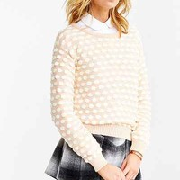 Cooperative Cloud-Stitch Sweater - Urban Outfitters
