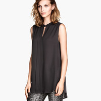 Sleeveless Blouse - from H&M