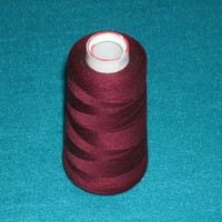 Red Currant Maxi Lock 100% Polyester Thread Spool 3000 YDS Destash
