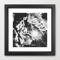 Sky I Framed Art Print by Design by Brandon Lee | Society6