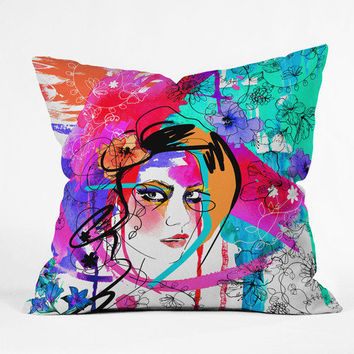 Holly Sharpe Passion Throw Pillow - Indoor /