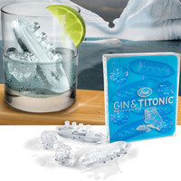 Gin and Titonic Ice Cube Trays