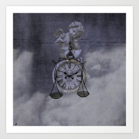 Le Poids du Temps/The Weight of Time Art Print Promoters
