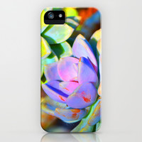 Succulent Color - Botanical Art by Sharon Cummings iPhone & iPod Case by Sharon Cummings