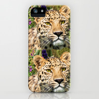 LEOPARD BEAUTY iPhone & iPod Case by Catspaws   Society6