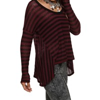 Burgundy Keep It Casual Top