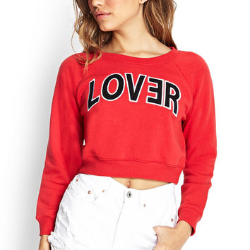Lover Cropped Sweatshirt