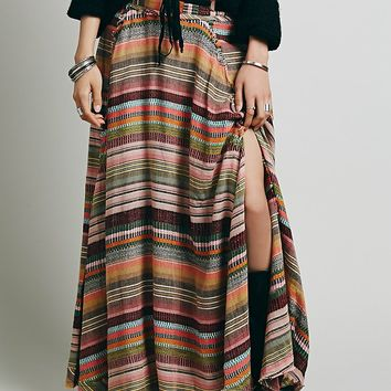 Free People Tibetian Stripe Maxi