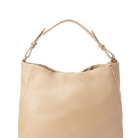 Slouchy Zippered Shoulder Bag