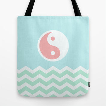 Sun Moon Lake Tote Bag by BeautifulHomes
