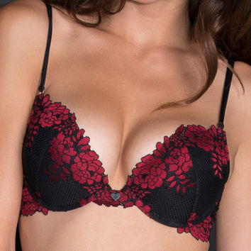 Blackheart Lace Scandalous Push-Up Bra