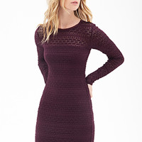 FOREVER 21 Textured Knit Dress