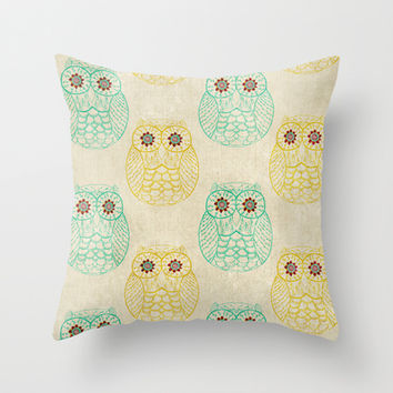 Owl Always Love You Throw Pillow by rskinner1122