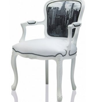 Chair design & decorative pattern 20 Black Big Apple - Big Apple flesh Designed Decorative 20 Black