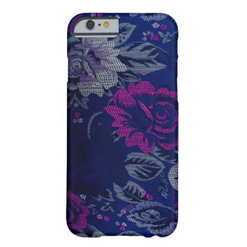 Blue Floral  iPhone 6 Case