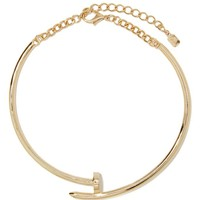 On The Nail Collar Necklace