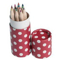 Red Spot Coloured Pencil Set - Party Games Prizes - Party Games - Kids' Party