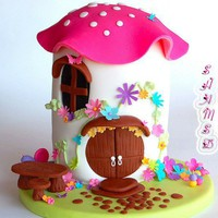 Cake / Toadstool House Cake | Flickr - Photo Sharing!