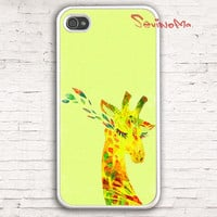 iPhone 4 Case, iphone 4s case, iphone case, cute Deer, lovely deer elk lady iphone hard case for iphone 4, iphone 4S