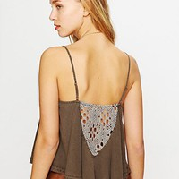 Free People On the Fringe Crochet Cami