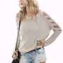 Cutout Knit by Aryn K | Trendy Sweaters | MessesOfDresses.com