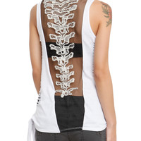 Teenage Runaway Black Spine Top