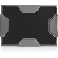 Lee Savage - Space large two-tone box clutch