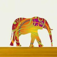 Nursery Decor Elephant Wall Decals .. on Luulla