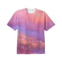 See the Dawn (Dawn Cloud Abstract) Unisex T-Shirt created by soaringanchordesigns | Print All Over Me