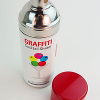 Graffiti Cocktail Shaker | PLASTICLAND