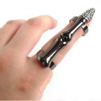 Fashion Robot Finger Cuff Ring | LilyFair Jewelry