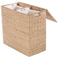 Divided Abaca Hamper, Honey