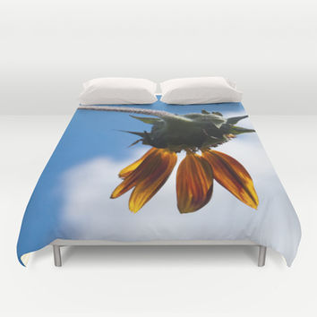 End of Summer Blues Duvet Cover by Legends of Darkness Photography