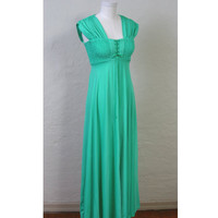 SALE 20 OFF Vintage Sea of Emeralds dress by SepiaVintage on Etsy